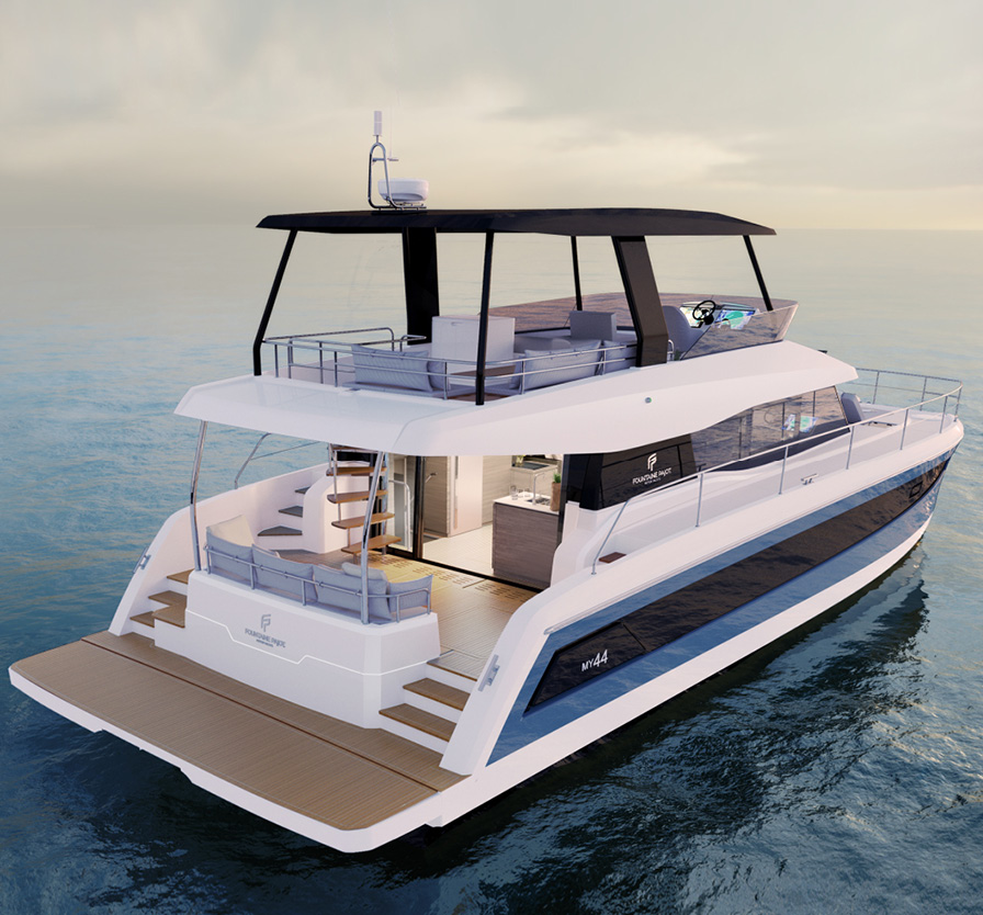 News Power Catamaran Fountaine Pajot Motor Yacht