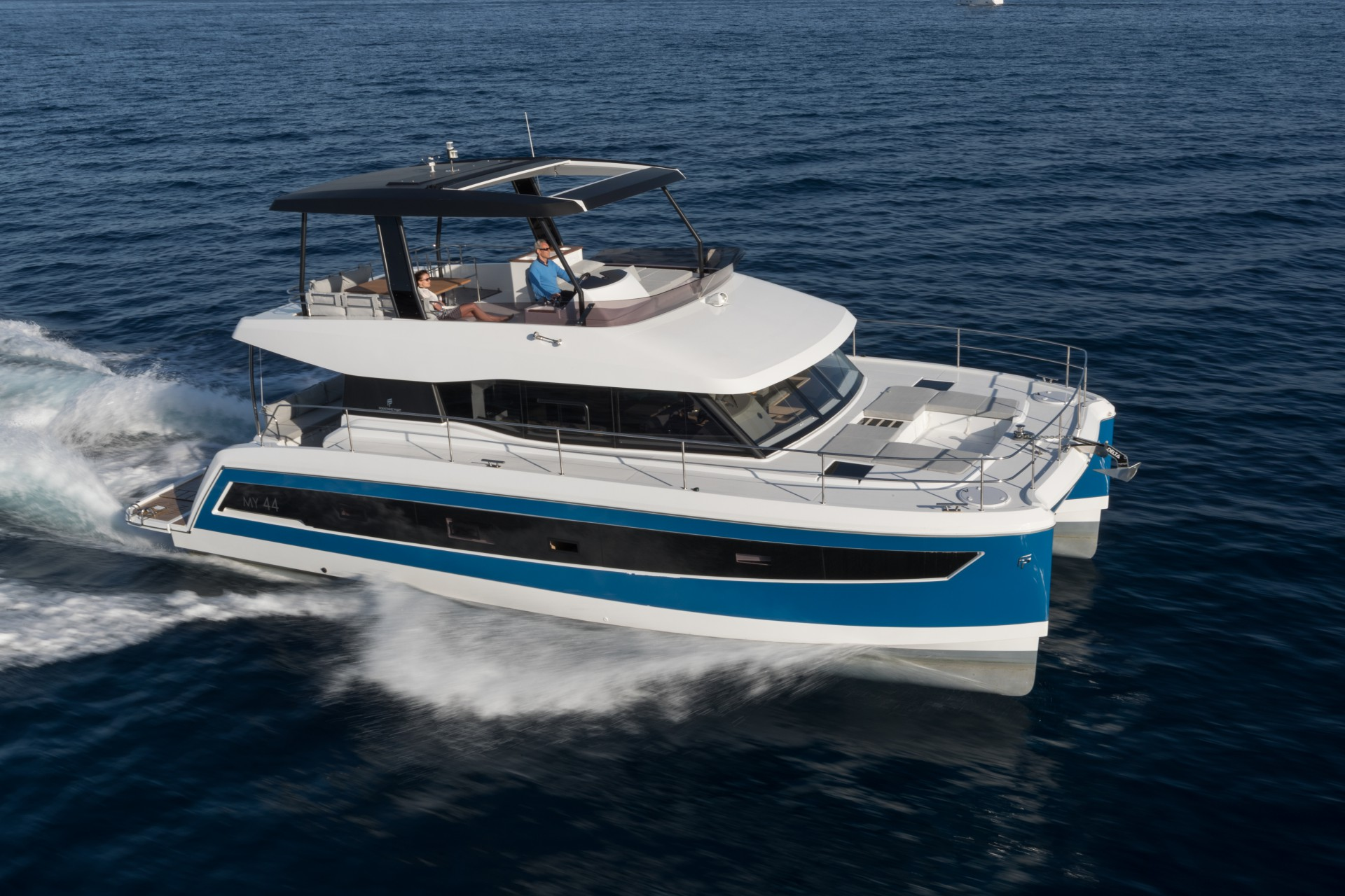 Save The Date Fountaine Pajot Motor Yacht
