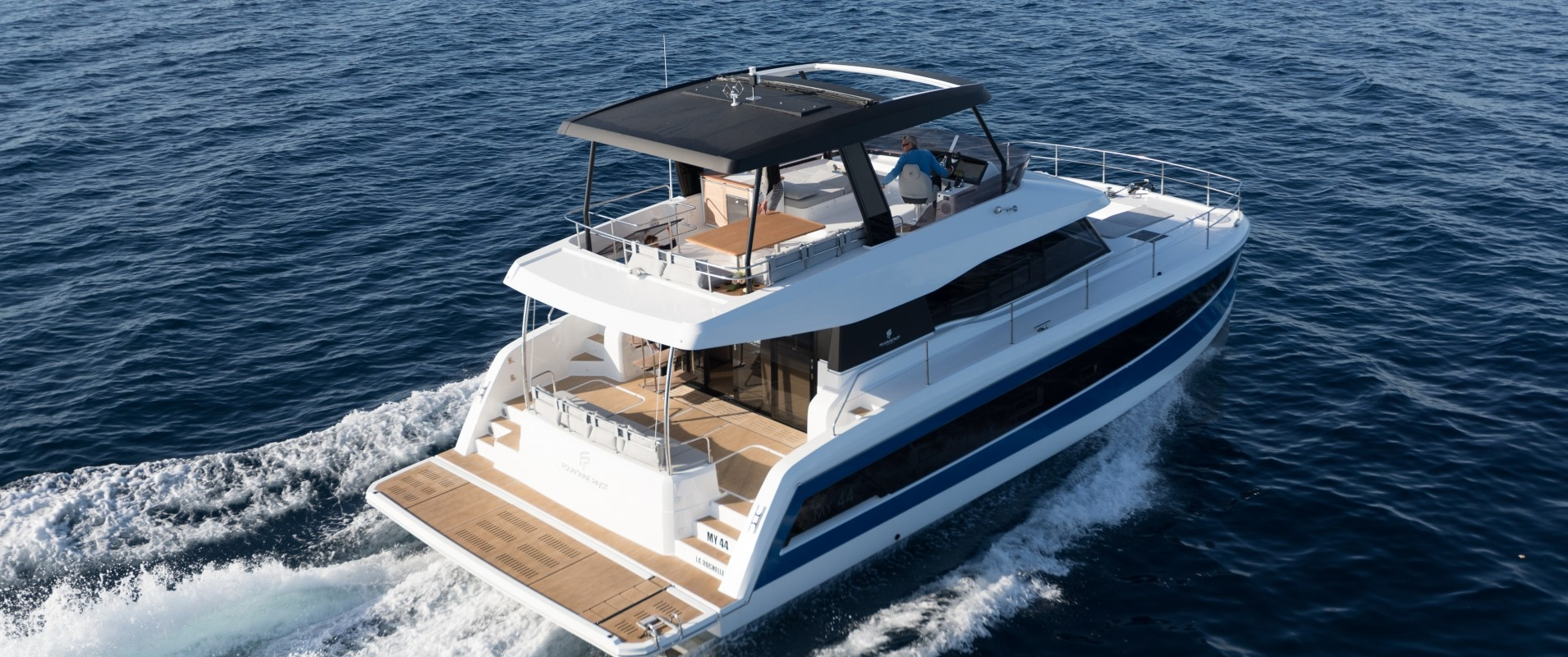 Power catamarans MY 44 - Fountaine Pajot